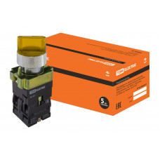 Переключатель BK 2565 2 положения желтый 1з+1р TDM