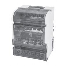 Модульный распределительный блок на DIN-рейку МРБ-125 2П 125А 2х15 групп TDM